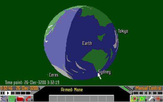 Frontier Elite 2 Amiga (1034)