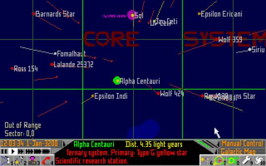 Frontier Elite 2 Amiga (545)