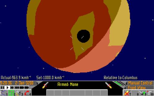Frontier Elite 2 Amiga (593)