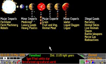 Frontier Elite 2 Amiga (829)