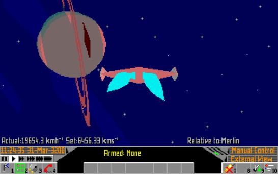 Frontier Elite 2 Amiga (852)