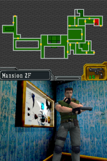 Biohazard DS Rebirth Mode (171)