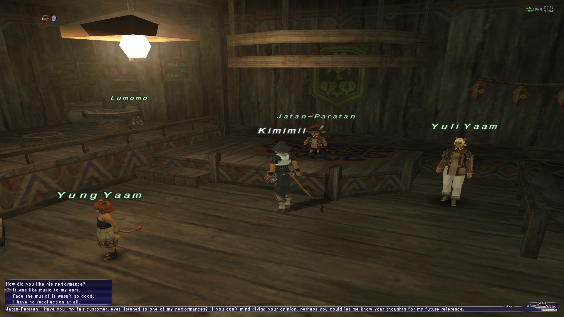 MMO NPCs are A-OK in FFXI – Kimimi The Game-Eating She-Monster