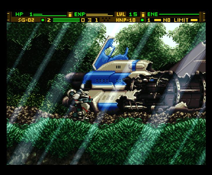 Front Mission Gun Hazard (4610)
