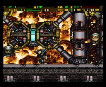Front Mission Gun Hazard (5438)