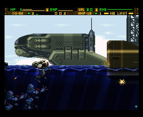 Front Mission Gun Hazard (5594)