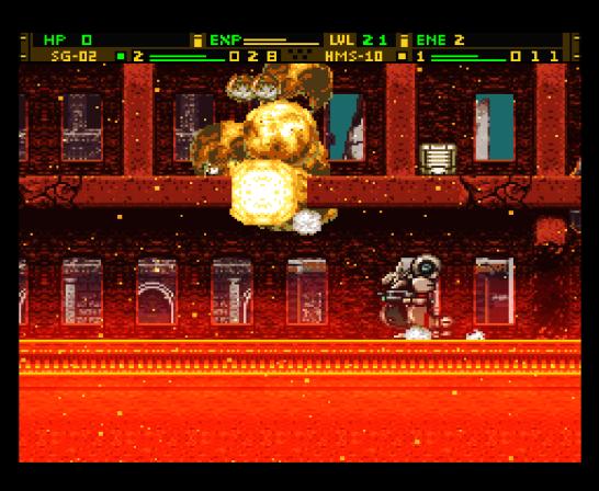 Front Mission Gun Hazard (5825)
