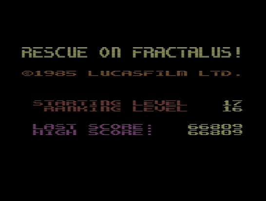 Rescue on Fractalus (842)
