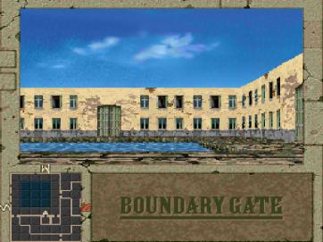 Boundary Gate PCFX (791)