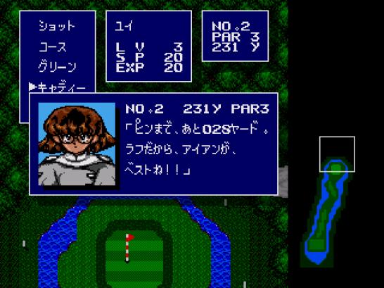 Battle Golfer Yui (326)