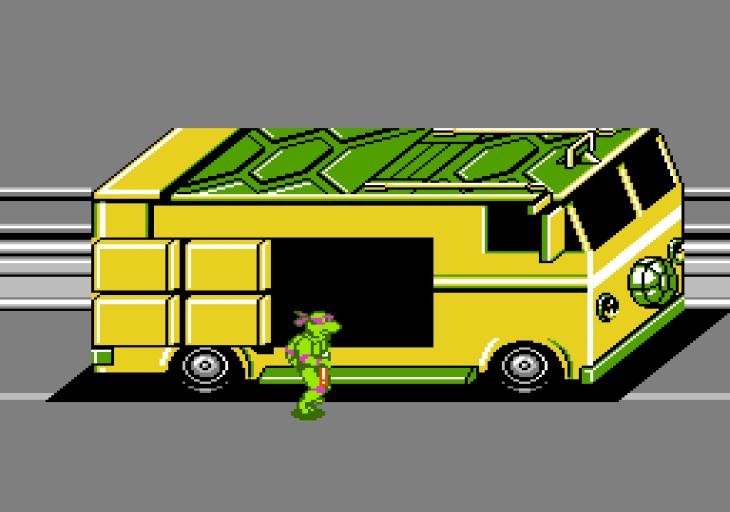 Teenage Mutant Ninja Turtles Famicom (167)