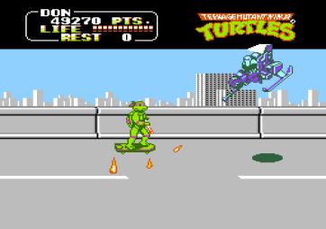 Teenage Mutant Ninja Turtles Famicom (198)
