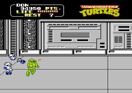 Teenage Mutant Ninja Turtles Famicom (302)