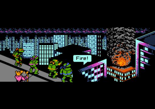 Teenage Mutant Ninja Turtles Famicom (6)