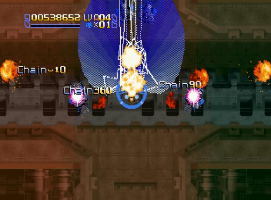 Radiant Silvergun Saturn Arcade (105)