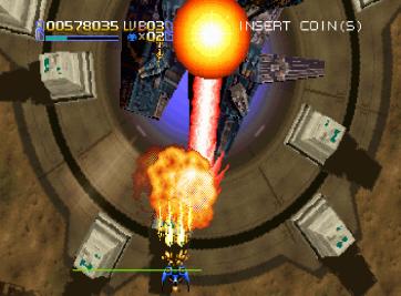 Radiant Silvergun Saturn Arcade (128)