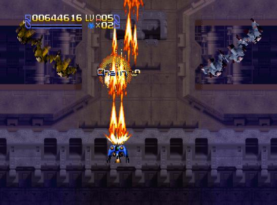 Radiant Silvergun Saturn Arcade (141)