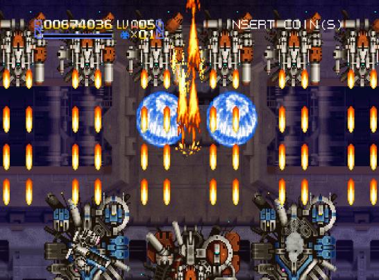 Radiant Silvergun Saturn Arcade (148)