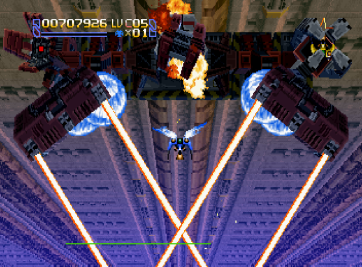 Radiant Silvergun Saturn Arcade (168)