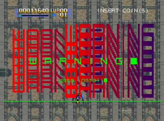 Radiant Silvergun Saturn Arcade (25)