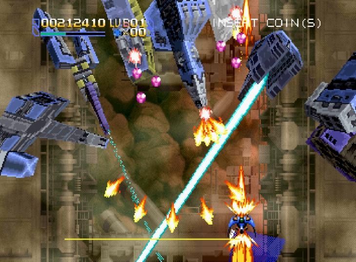 Radiant Silvergun Saturn Arcade (61)