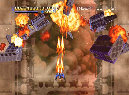 Radiant Silvergun Saturn Arcade (65)